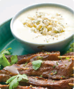 ... scallion sauce recept yummly steak skewers with scallion dipping sauce
