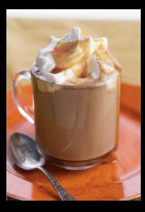 Spiced White Chocolate Latte