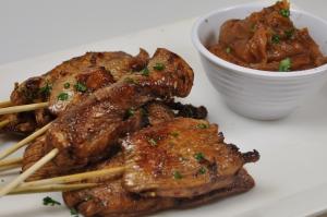July Chicken Satay