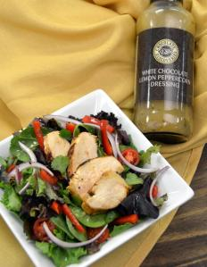 Lemon Peppercorn Chicken Salad