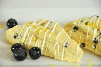 white choc meyer lemon scones