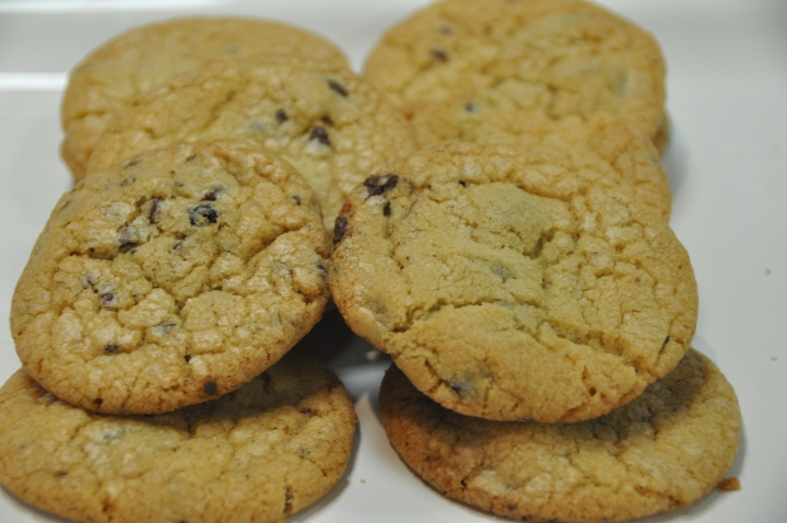 Cookies with Choc Cov Blueberries