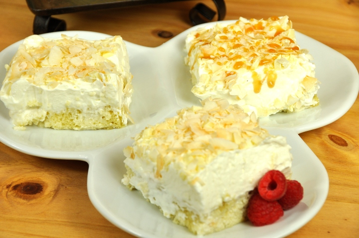 Coconut WC Poke Cake