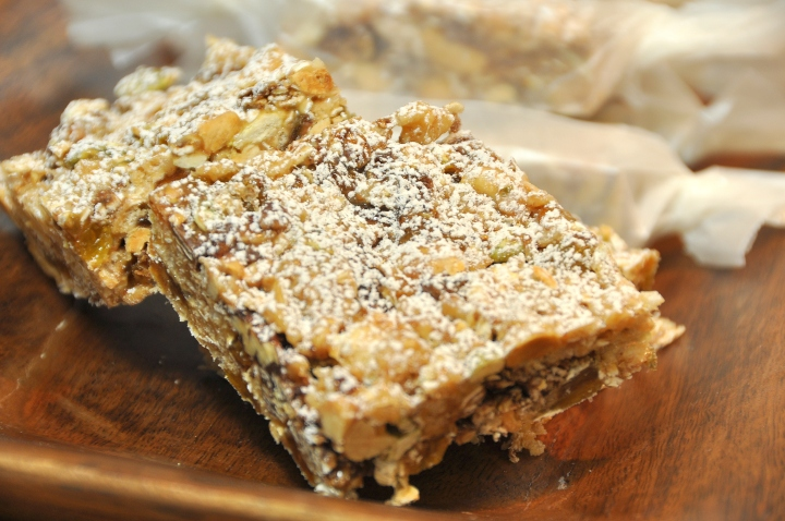 No Bake Granola Bar